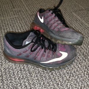 Nike Airmax Pink and Grey Sneakers